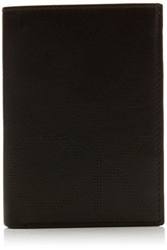 Calvin Klein Jeans Ck Point Ns 8cc Coin Pass, Portefeuilles homme, Noir  (Black 4dea66f157b