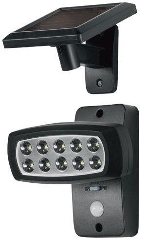 LIVARNO® LED-Solarstrahler mit Bewegungsmelder