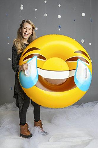 BigMouth Inc Luge Gonflable Emoji - Cadeau Maestro