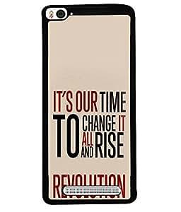 FUSON Designer Back Case Cover for Xiaomi Mi 4i :: Xiaomi Redmi Mi 4i (Good Idea Great quote Success Quote)