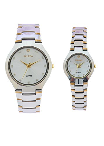Faleda 683PTTW Standred Analog Watch For Couple