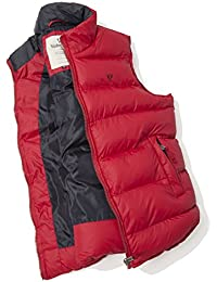 Vedoneire Mens Padded Gilet (3063 RED) vest sleeveless coat