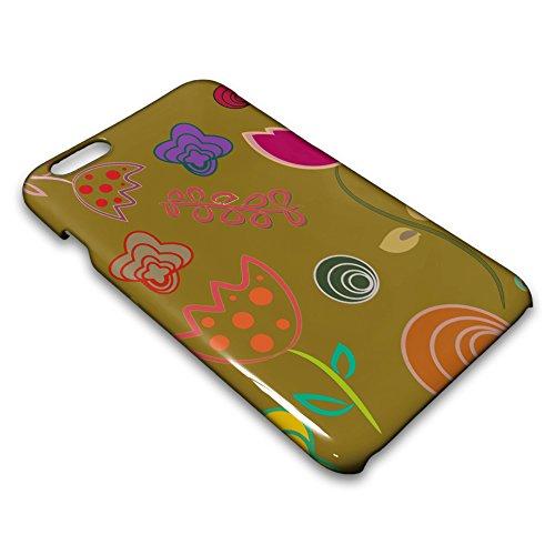 farmygadget Coque Case Impression Complète type fleurs–Flowers Étui pour Smartphone Apple 00008c