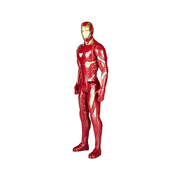 Marvel- Figura Titan Hero Series Infinity War, Iron Man (Hasbro E1410EU4) 2