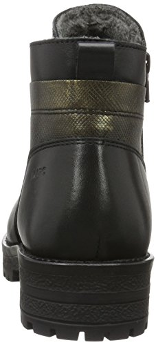 Marc Shoes Melissa, Stivaletti Donna Nero (Schwarz (black-combi 00073))