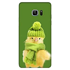 MOBO MONKEY Printed Hard Back Case Cover for Samsung Galaxy Note 6/7 - Premium Quality Ultra Slim & Tough Protective Mobile Phone Case & Cover