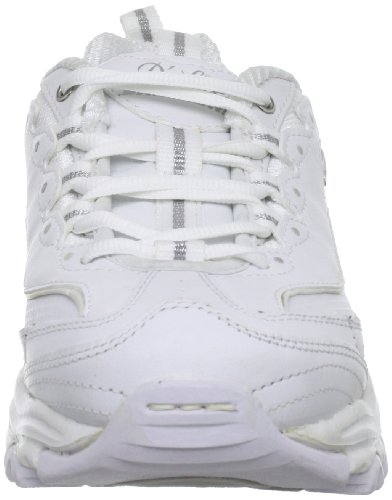 Skechers  D'LitesCentennial, basket femme White/Silver