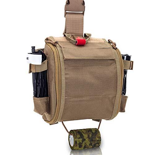 Elite Bags - QUICKAIDŽS, Botiquín Paramédico Pernera con Sistema Mo