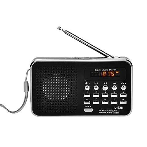 iMinker Mini-Digital-beweglicher FM Radio-Mittel-Lautsprecher MP3-Musik-Spieler TF / SD Karte Usb-Scheiben-Hafen