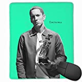 ncnhdnh Eminem King of Hip Hop Mouse Mat,Gaming & Office Mouse Pad Non-Slip and Accurate Speed Pad Rubber Base