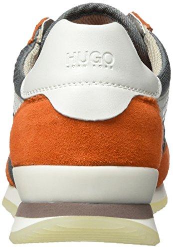 Hugo Adreny-s 10191482 01, Scarpe da Ginnastica Basse Donna Arancione (Bright Orange 826)