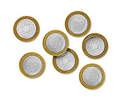 Learning Resources Two Pound Coins, Set of 100 from Learning Resources