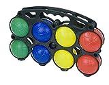 Boccia Set 10 pz. Boule plastica colorata palle Bocci 8 palline di acqua riempito