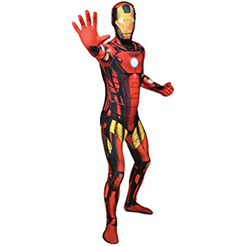 Morphsuits MLIRM2 - Iron Man traje adulto, XXL, 186 a 210 cm, multicolor