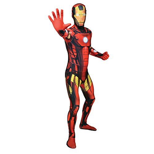 Morphsuits - Disfraz para adulto Iron man Marvel, talla L (MLIRML)