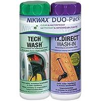 Nikwax Tx. Direct Wash In Imperméabilisant + Nikwax Tech Wash Nettoyant technique non détergent