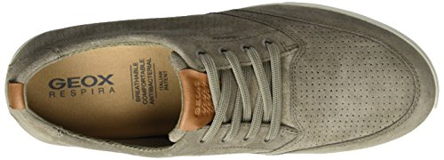 Geox U Walee B, Sneakers Basses Homme Beige (Taupec6029)