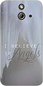 DailyObjects Believe In Angels Case For HTC One E8