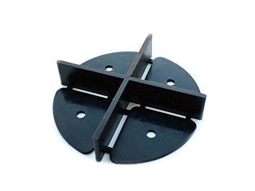 Fugenkreuze 2mm Fuge 20 Stk. Sondergröße für Gartenterrassen Terrassenfliesen Fliesen Verlegehilfe Abstandshalter Fliesenkreuze