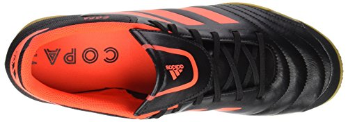 adidas Copa 74 In, Chaussures de Football Homme Rouge (Core Black/solar Red)