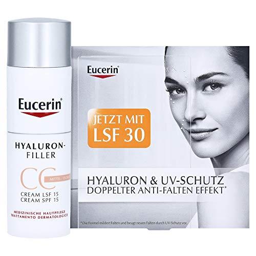 Eucerin Hyaluron-Filler CC Cream Mittel Creme, 50 ml