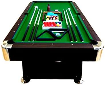 mesa de billar juegos de billar pool 8 ft carambola Medición de 220 x 110 cm Nuevo Envio Gratis embalado verde