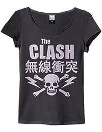 Amplified The Clash Bolt Womens T Shirt