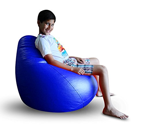 Style Homez Classic Bean Bag XL Size Royal Blue Color Cover Only  available at amazon for Rs.959
