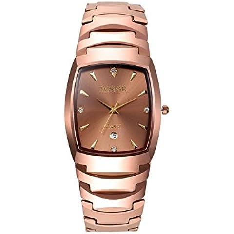 Tungsteno acciaio orologi al quarzo impermeabile ladies watch , 2