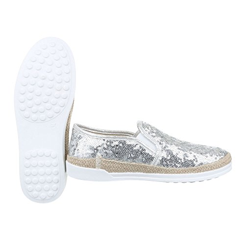 W-61, chaussures basses femme Silber 50701