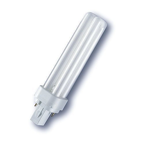 Osram G24d-2 DULUX D18W/840 Kompaktleuchtstofflampe EEK B 18W Cool White (13w Cool Led)
