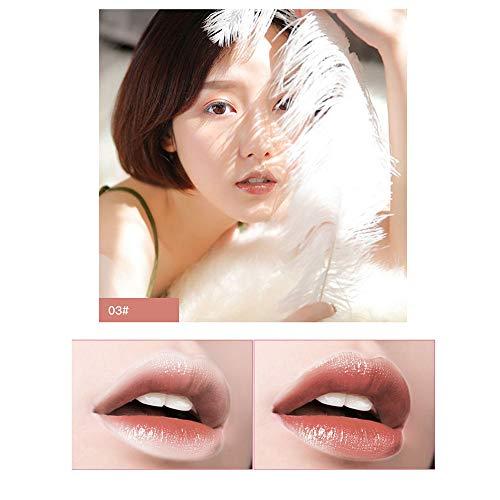 BauycyLipstick Mat Matt Matte Lippenstift, 6 Farben Makeup Bright Feuchtigkeitsspendender Lipgloss Lipstick Lang anhaltender Lipgloss Beauty Kosmetik Make-up Set Glanz