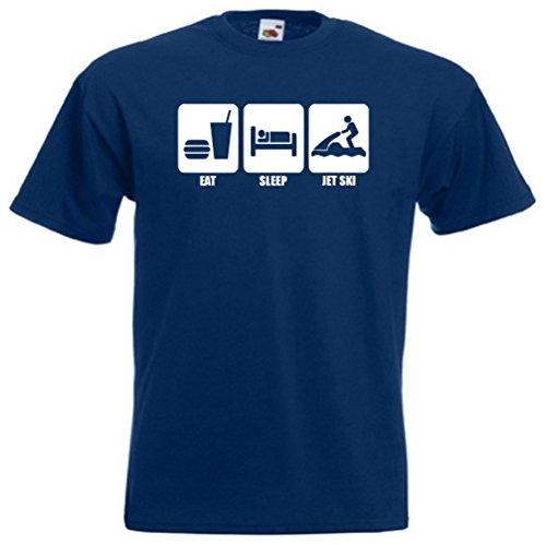 Eat sleep jet ski shirt, 441
