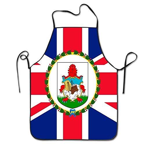 Gorgeous practical goods Superbe Bijou Pratique Yongchuang Feng Drapeau des Bermudes de Cuisine Unisexe BBQ Cook Chef Tablier de Cuisine Professionnel Adultes Bavoirs Cadeaux Barbecue Tablier