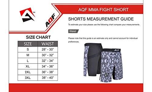 AQF-MMA-Fight-Shorts-Grappling-Short-Kick-Boxing-Cage-Fighting-Shorts-Camo-Grey