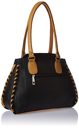 Fantosy Women's Handbag (Black, FNB-216)