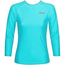 2a6cc654b5ea39 Landora®  Damen UV-Shirt mit UV-Schutz 80 und Oeko-Tex