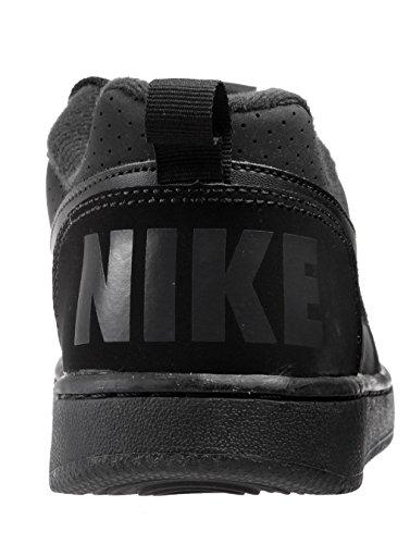 Nike Court Borough Low (Gs), espadrilles de basket-ball garçon Noir