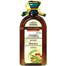 Green Pharmacy hierbas Champú Ginseng fettiges pelo 0% parabenen ...
