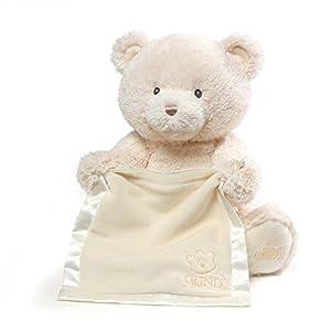 GUND Baby 4059953 Baby GUND My First Teddy Peek A Boo Blue Soft Toy by Gund Baby