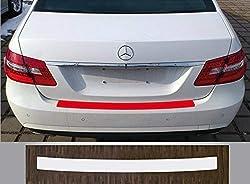 Lackschutzfolie Ladekantenschutz transparent - Mercedes E-Klasse Limousine W212, Facelift 2013-2016