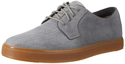 Clarks Herren Calderon Lace Derby, Blau (Denim Blue Lea), 42.5 EU (Jeans Leder Lace)