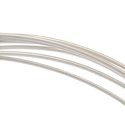 Sterling Silver Wire 22 Gauge Round Dead Soft (5 Feet) by Beadaholique