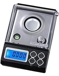 BESTONZON - Báscula de bolsillo digital de precisión para monedas, ...