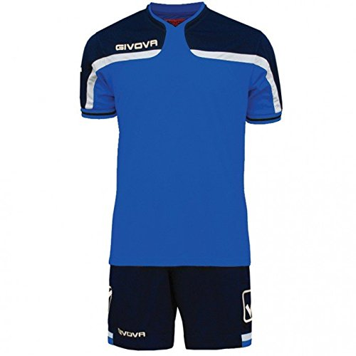 Givova America Kit Calcio, Royal/Blu, L