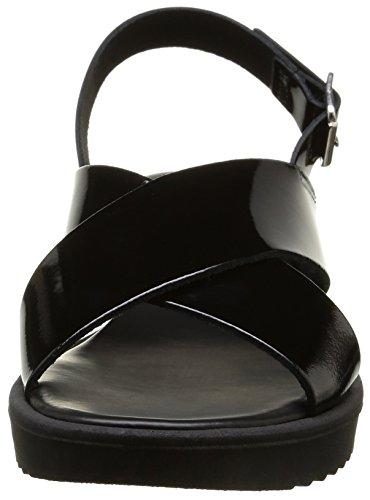 Pieces Jiselle, Sandales femme Noir (Black)