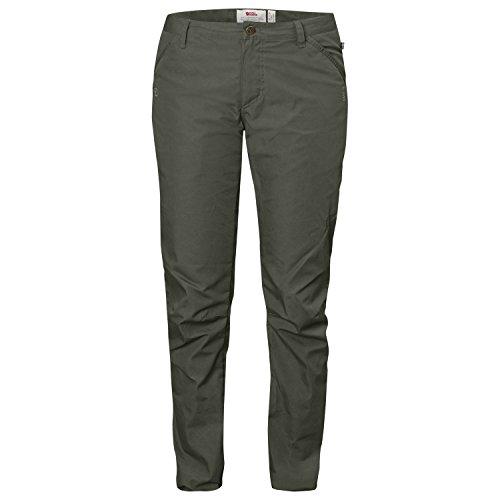 Fjällräven Damen High Coast Trousers W Lange Hose, Mountain Grey, 36