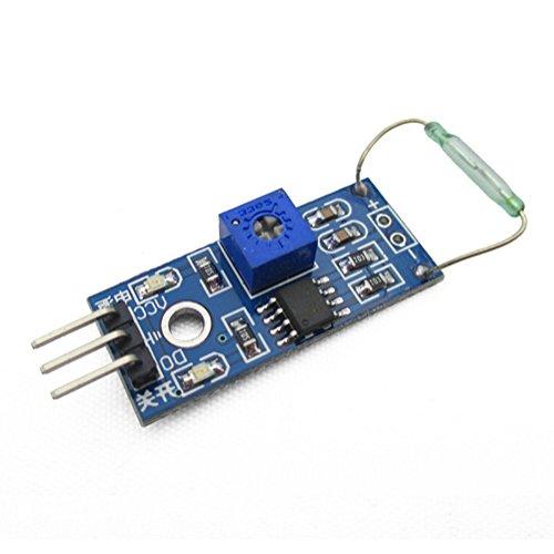 DaoRier Magnetron-Modul Reed-Sensor-Modul Reed-Schalter Magnetschalter -