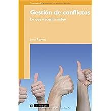 Gestión de conflictos: Lo que necesita saber (Manuales)