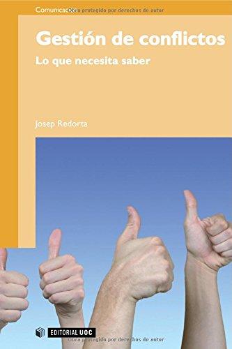 Gestión de conflictos: Lo que necesita saber (Manuales) por Josep Redorta Lorente
